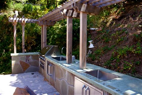 high end outdoor kitchens greenbrae high end outdoor kitchen dining room