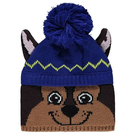 paw patrol chase police boat paw patrol chase bobble hat charlie s favs pinterest