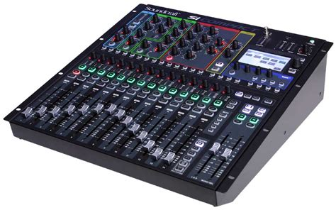 console mixer soundcraft si expression 1 16 channel digital live sound