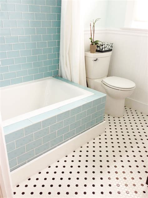 Tiling A Bathtub Shower Surround by Vapor Glass Subway Tile Bathtub Surround Subway Tile Outlet