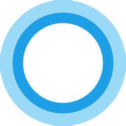 cortana logo icon  flat style   svg png