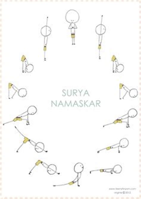 sun salutation coloring page toddlers yoga sun salutations print out the sun color it
