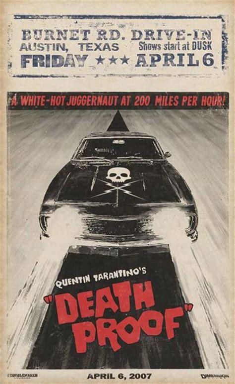affiche film quentin tarantino affiche du film boulevard de la mort un film grindhouse