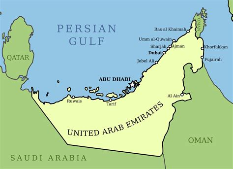 uae countries map you heard about the uae iceberg project the pile