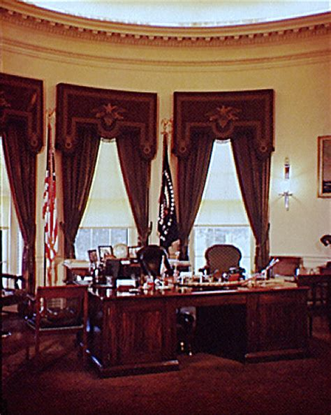 oval office drapes design us presidents office