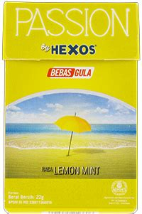 Hexos Permen Rasa Lemon Mint konimex e store by hexos lemon mint
