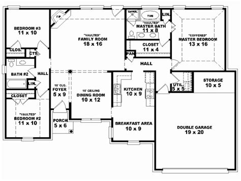 6 bedroom house plans with modern home design ideas