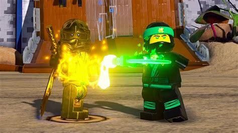 golden ninja film the lego ninjago movie videogame gold ninja open world