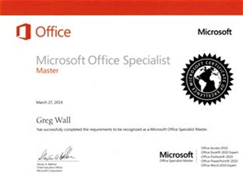 Ms Office Certification by Computer Courses And Microsoft Office Certification