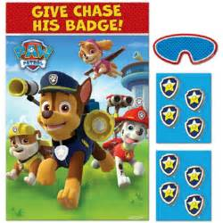 One paw patrol party game each game includes one 37 5 x 24 5 inch game