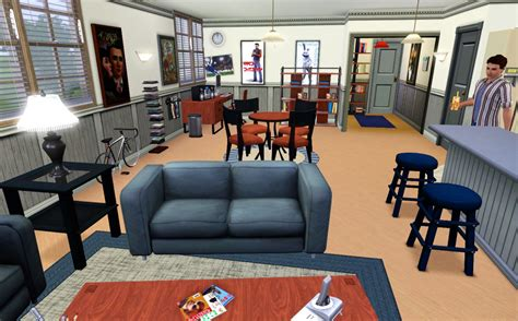 seinfeld appartment mod the sims seinfeld apartment building