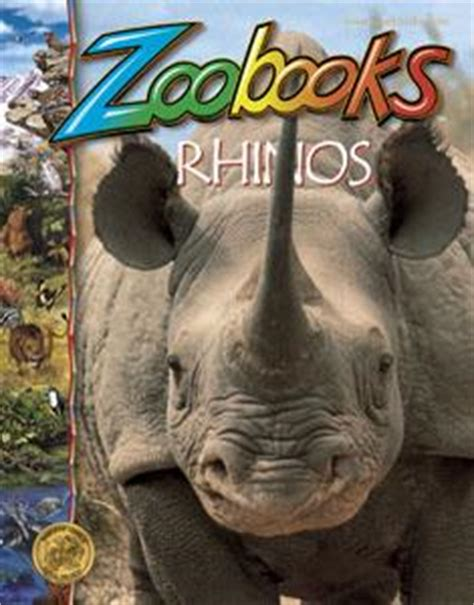 i a rhino books rhinos zoobooks