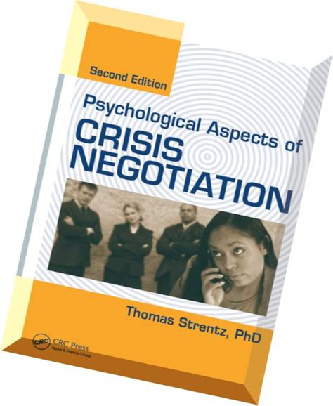 psychological aspects of crisis negotiation books psychological aspects of crisis negotiation