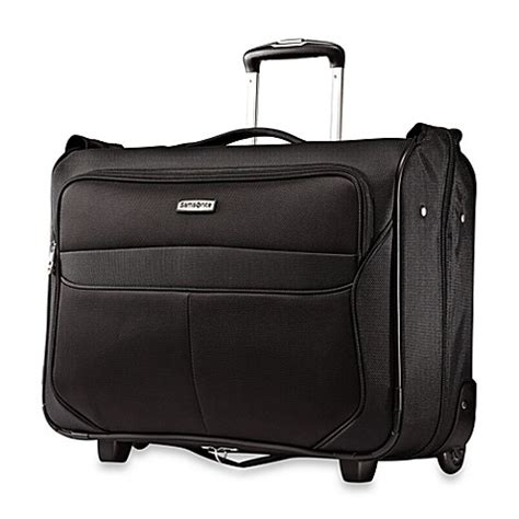Samsonite Hyperspin 2 Wheeled Garment Bag by Samsonite Liftwo Wheeled Garment Bag In Black Bed Bath Beyond