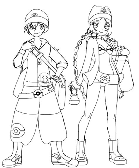 pokemon trainer coloring pages pokemon trainer gold coloring pages coloring pages