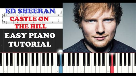 download mp3 ed sheeran castle on the hill ed sheeran castle on the hill easy piano tutorial