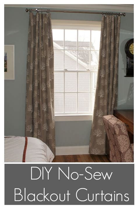 sewing blackout lining on curtain 25 best ideas about fabric strip curtains on pinterest