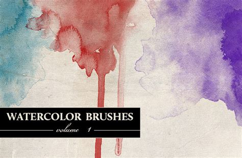 watercolor tutorial using small brushes beautiful watercolor effect tutorial and photoshop brushes