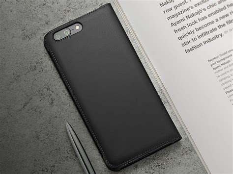 official smart flip leather for oneplus 5