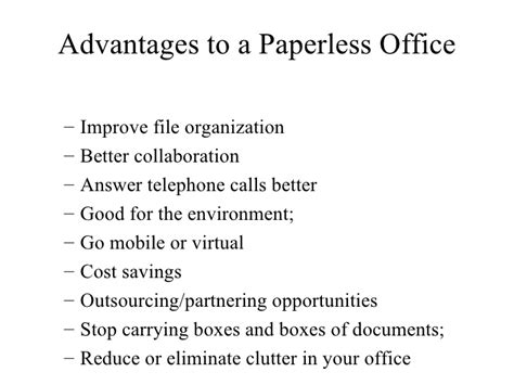 Paperlessemployee Mba by Considerations For Maintaining A Paperless Office