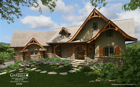 springs cottage house plan gable country farmhouse