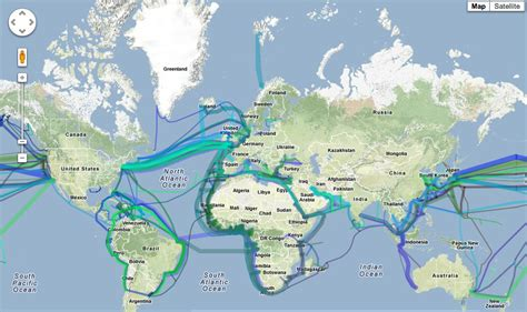 undersea cable map how are undersea cables laid in the oceans advantages