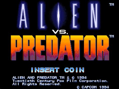 emuparadise u vs e alien vs predator usa 940520 rom