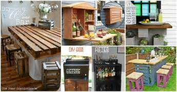 creative ideas for home 30 creative diy wine bars for your home and garden