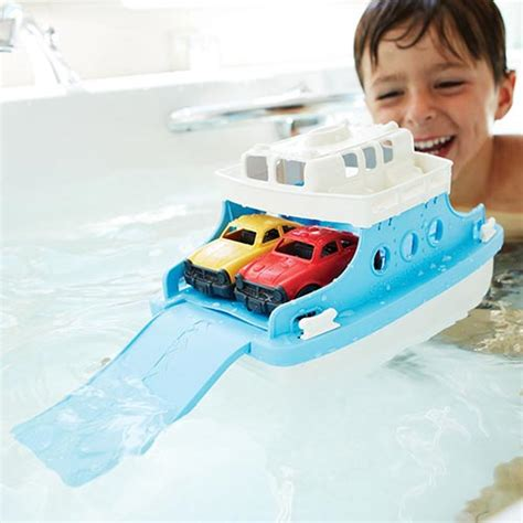 ferry boat with mini cars green toys ferry boat with mini cars frba 1038 timber toys