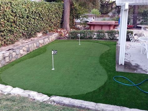 installing a putting green in your backyard synthetic putting green installation rocklin california
