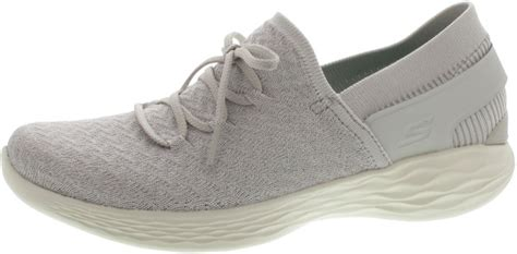 Skechers You Beginning by Skechers You Beginning Slipper Grau 89227009 37 Schuh