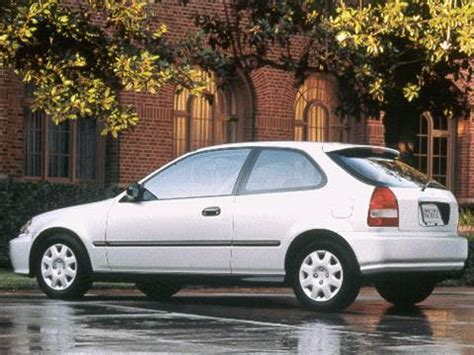 1999 honda civic | pricing, ratings & reviews | kelley