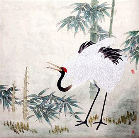 crane painting crane painting crane 2389028 66cm x 66cm 26 x 26
