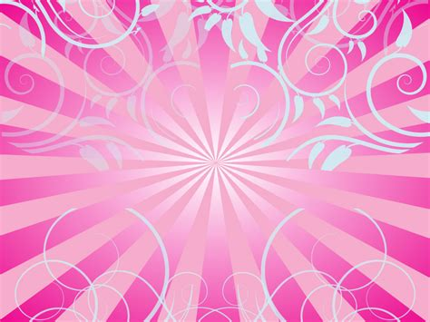 pink designs pink swirls and rays