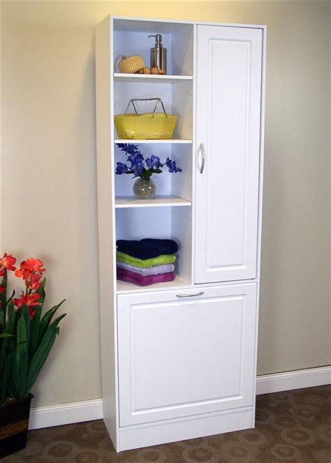 Her Cabinets Bathroom Cabinet Custom Her Tilt Bathroom Cabinet With Built In Laundry