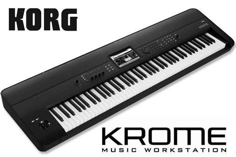 imagenes de teclados musicales korg nuevo korg krome workstation sounders venta y alquiler