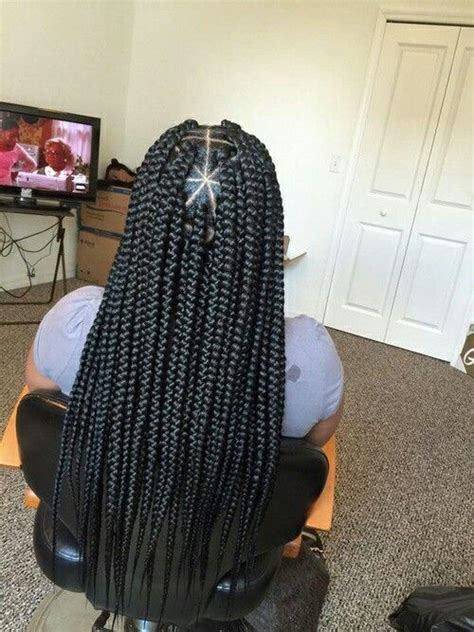 triangle parts natural hair triangle part box braids gottalovedesss braids for