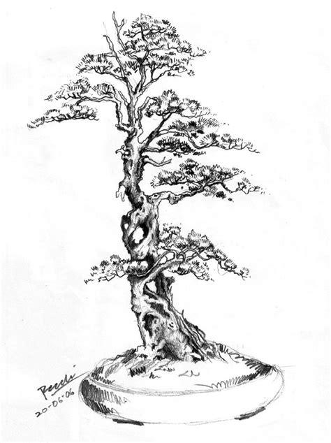 japanese tree tattoos designs drawing pictures rudi has 100 bonsai of various
