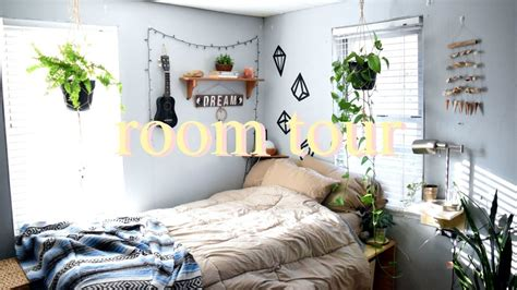 hippie bedroom tumblr room tour 2017 boho hippie tumblr youtube