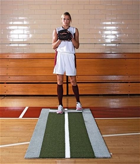 Softball Pitching Mat by Jennie Finch Pitching Pro Softball Pitching Mat