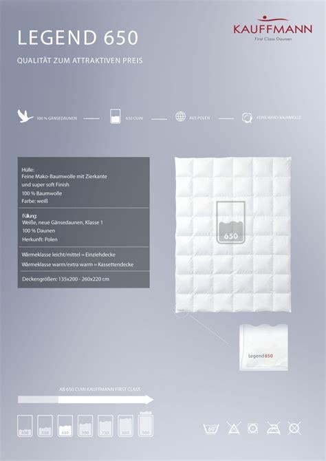 decken sortiment - Daunen Bettdecke 135x220