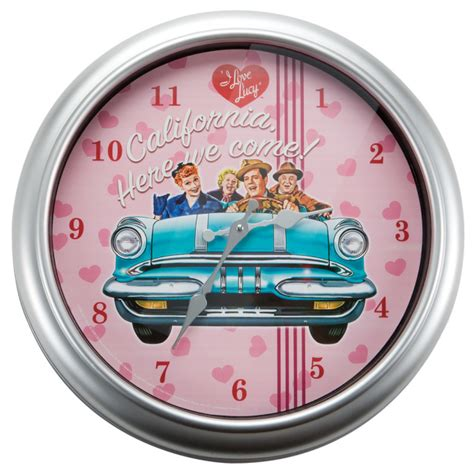i california here we come wall clock