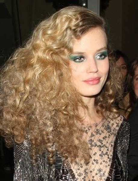 long evening hairstyle 1970s long curly disco hairstyles for girls 2015 full dose