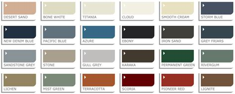 steel color roofing colour steel profile options nz sheds4u