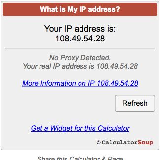 my ip what is my ip address