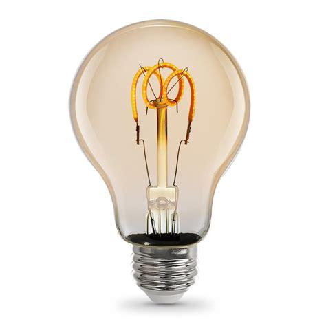 12 Watt Led Light Bulbs Feit Electric 4 5 Watt Soft White 2000k At19 Dimmable Led Vintage Style Light Bulb Of 12