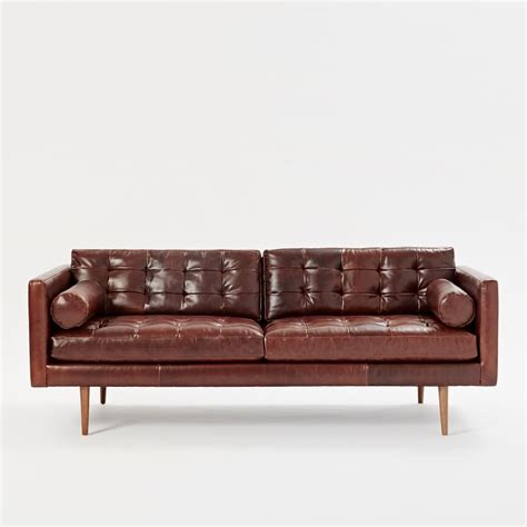 west elm monroe sofa review danish modern leather sofa elite leather mid century