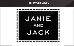 Janie And Jack Gift Card - buy janie and jack in store only gift cards raise