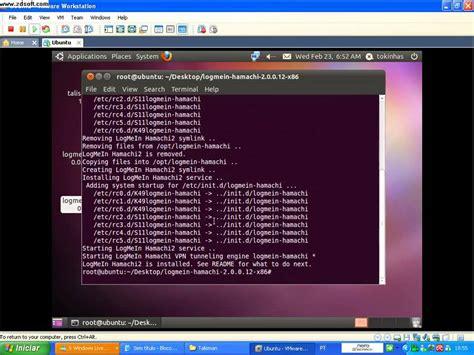 tutorial hamachi linux como instalar o hamachi no seu linux ubuntu e configurar