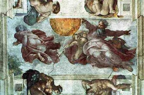 Sistine Chapel Ceiling Adam And by Sistine Chapel Ceiling Creation Of Adam Michelangelo
